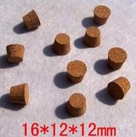 16*12*12mm wine bottle cork stopper soft wood pudding ceramic glass sealed wish jar bottle cap cover wine accessories