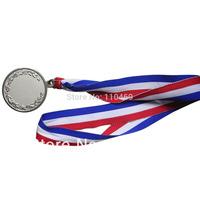 Customized logo colorful printing medal lanyard lanyards for medals  Medal Ribbon Lanyard lowest price free shipping