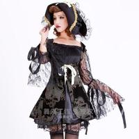 Free Shipping ML5217 Hot Sale!Fashion Sexy Pirate Costume Fancy Dress Women Halloween Pirate Costume sexy costumes women