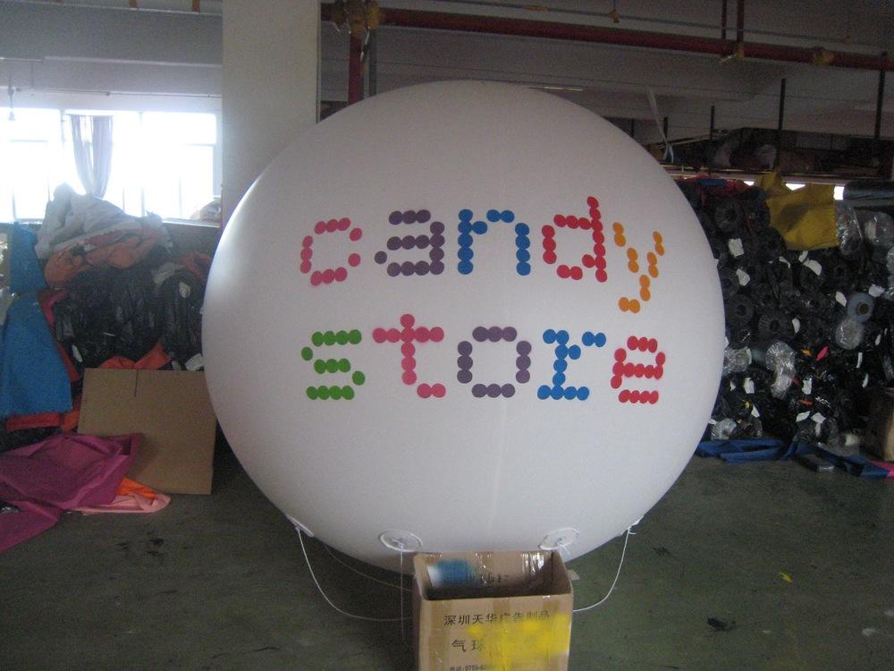 inflatable helium balloon airship blimp ball, helium ball ,advertising ball(China (Mainland))