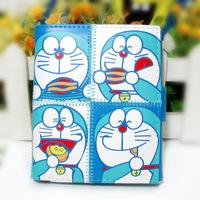 unique wallets for women Three-fold DORAEMON short design cartoon wallet card holder Free shipping