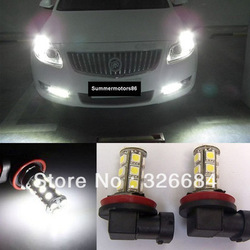 White H8 H11 Hi-Power 5050 Car Truck Led Fog Light Front Lamp DRL(China (Mainland))