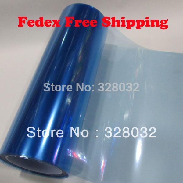Light Blue Color Car headlights taillights foglights Protective Vinyl Film sticker 0.3m*10m/roll 250m/lot Fedex Free shipping(China (Mainland))
