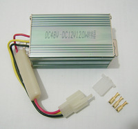 input 48VDC output 12VDC voltage converter electric bicycle transformer 12v 120w