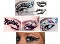 Eye Shadow Sticker tattoo Innovative Eyeshadow,magic eye patch, revolutionary cosmetic make up tools, 5pairs/lot,