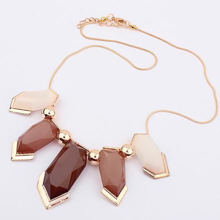 Colar da forma geometria colar colar feminino 4323 Sem Min. Ordem(China (Mainland))