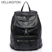 2013 women's genuine leather handbag backpack back double-shoulder cowhide backpack preppy style bag
