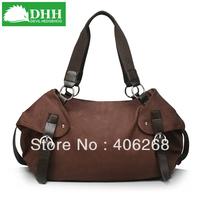 free shipping  DHH fashion   high quality canvas bag  ladies' handbag shoulder bag  classic shoudler bag