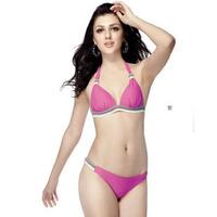 Free Shipping 2013 Hot Fasion Sexy Push Up Lace Victoria VS Monokini Bikini Mini Swimsuit Bathing Suit Suits Swimwear Swim Wear