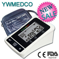 Electronic Arm-type fully automatic blood pressure monitor Heart Beat Meter+LCD display +120 memories