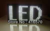 high quality waterproof 32*16 outdoor white led module p10