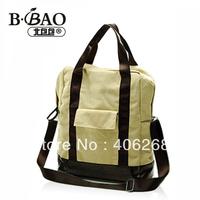 free shipping  preppy style muti bag canvas backpack women's handbag sling bag shoulder bag