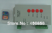 T-1000s led pixel sd card rgb controller for intelligent led strip WS28011,LPD6803,TSL3001,TM1804 Max 2048 points Programmable