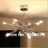 12 Lights 68cm New Modern G4 Crystal Ceiling Lighting Lamp Lighting Fixture bedroom dining room ems free shipping