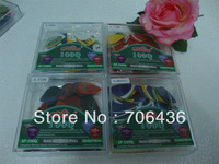 special wholesale Alice matte ABS guitar picks Pick Thickness of  four 0.58mm to 0.96mm shrapnel mixed 400pcs/ lots