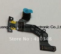 5pcs/lot Front Camera With Flex Cable Ribbon for iphone 5 5G Free shipping