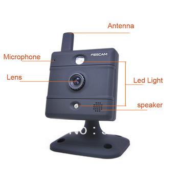 FOSCAM FI8907W CAMERA NETWORK IP WIRELESS BABY MONITOR webcam WHITE 2-WAY AUDIO Black HK /SG POST