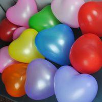 Free shipping 12 inch Wedding heart  thickening latex balloon 100pcs/lot