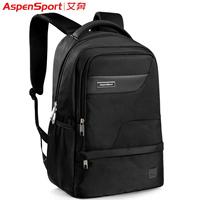 Male backpack female backpack middle school students school bag male double-shoulder laptop bag preppy style travel bag