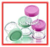 Free shipping 15pcs/lot Mask case bubble cosmetic bottle cream jar DIY makeup bottle 20ml mini  container