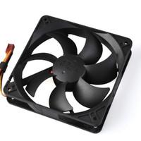 free shipping 2pcs F-92 9cm 9025 computer case fan cooling fan silent fan black