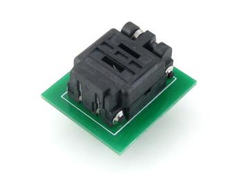 QFN8 TO DIP8 (C) MLF8 MLP8 Plastronics QFN IC Programming Adapter Test Burn-in Socket 8*6 mm 1.3Pitch + Free Shipping