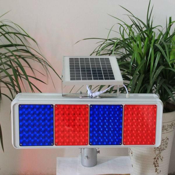 2013hot sale brightness solar traffic flashing light(China (Mainland))