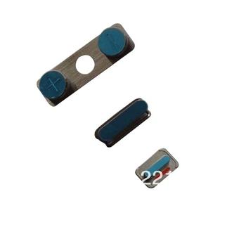 Wholesale Volume Key +Mute Button +Power Button for iPhone 4   100pcs/lot