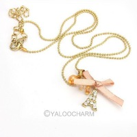 27pcs New Stylish Elegance Wild Bow Bowknot Butterfly Eiffel Tower Necklace 60159