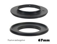 AL-67mm Metal Reverse Mount Macro Lens Adapter for Nikon AL (Black) Professional Ring