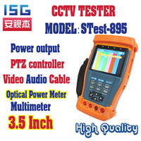 Stest-895 3.5 inch CCTV Tester with PTZ controller and with multimeter