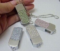 Jewelry Business Gift USB Stick Flash Memory 8GB 16GB 32GB 64GB Free Shipping(China (Mainland))