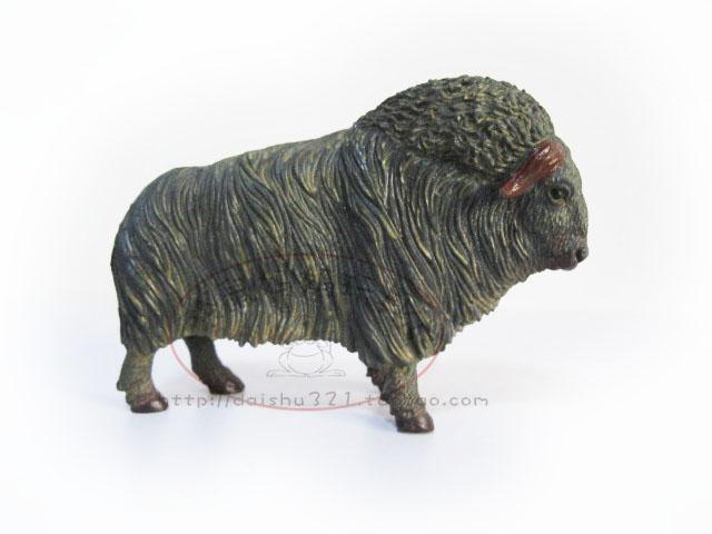 Sh wild animal wild animal model toy yak sheep eco-friendly Large plastic(China (Mainland))