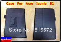New Leahter Case Stand Cover Skin For Acer Iconia B1 B1-A71 Tab +Free touch pen