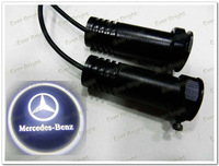 Hot ! 1*lot 2pcs 2nd Generation 5w Cree customizing car logo laser door light for Benz