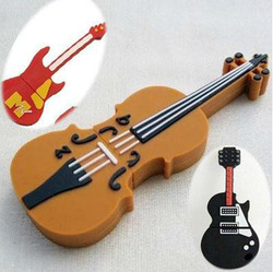 mini Guitar violin model USB 2.0 Flash Memory Pen Drive Stick 1GB 2GB 4GB 8GB 16GB 32GB UB180(China (Mainland))