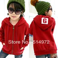 Best selling!!FASHION print G letters Boys hoodies long sleeve children Sweatshirts kids coat free shipping