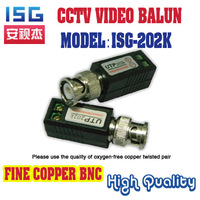ISG-202K  Video Balun passive Transceivers  up to 3000ft Range Good inductance Used to Cctv Camera Transmission Free shipping