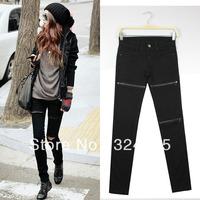 Женские джинсовые леггинсы