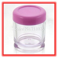 Free Shipping 100pcs/Lot  Glitter Powder Empty Case Box WholeSale Clear  Bottle Container for DIY Facial Mask