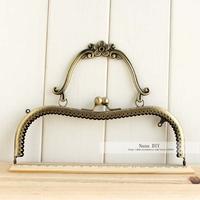 20cm Antique Bronze Plum Blossom Metal Purse Frame High Quality Nana DIY bag Accessory 10pcs/lot  FREE SHIPPING