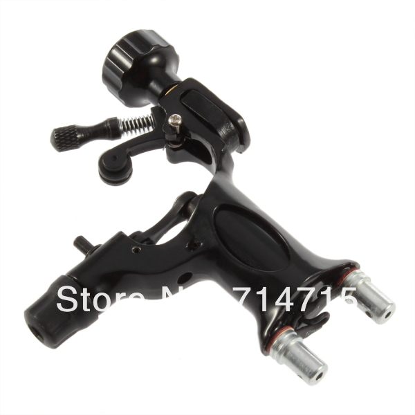 1 x Pro Motor Rotary Tattoo Machine Gun Black Dragonfly Style Newest For Artist 100% Brand New Hot Selling(China (Mainland))