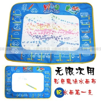 Large magic water painting canvas multi-colored child multicolour doodle mat aquadoodle