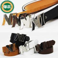 On Sale Hot belt basic ni letter veneer strap FREE SHIPPING