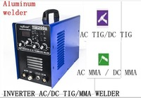2015 IGBT 4IN1 AC/DC 200A TIG/MMA/STICK ALUMINUM WELDING MACHINE