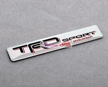 TRD spotr Metal Rear Badge Emblem Sticker 3D For Toyota Camry Reiz RV4 Corolla Free Shipping High Quality Wholesale