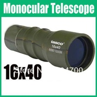 free shipping!!!Mini 16x40 Adjustable Monocular Focus Telescope For Camping Sports azz ( 5 piece in a package)