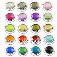 Free shipping 20 colors Bag hanger Purse holder Foldable Handbag Hook wholesale sw100