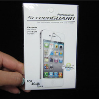 60pcs/lot  free shipping Moble phone crystal clear screen protector for iphone 3 3G