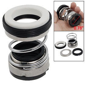 2 Pcs Rubber Bellows Single Spring 20mm Internal Dia Mechanical Shaft Seal Free shipping(China (Mainland))
